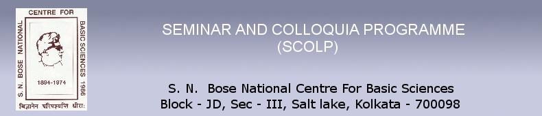 Seminar and Colloquia Programme Programme (SCOLP)